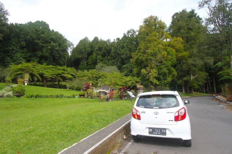 The Toyota at Bali Kebun Raya Botanical Gardens