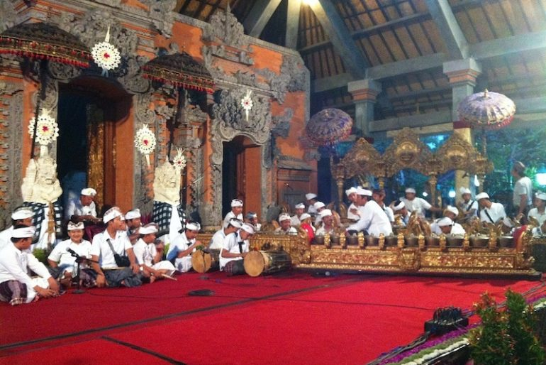 Ubud temple hall