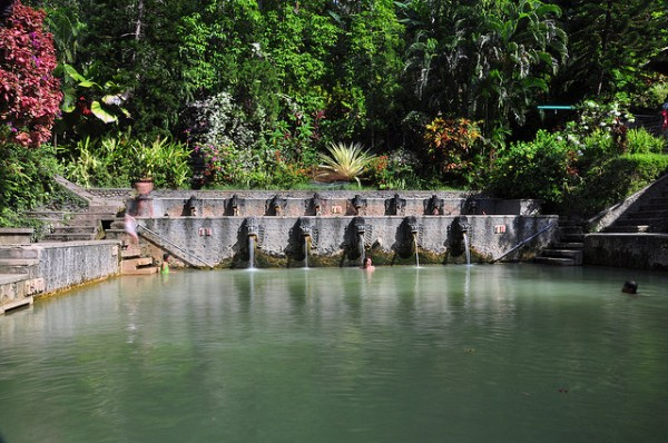 Banjar hot spring pools