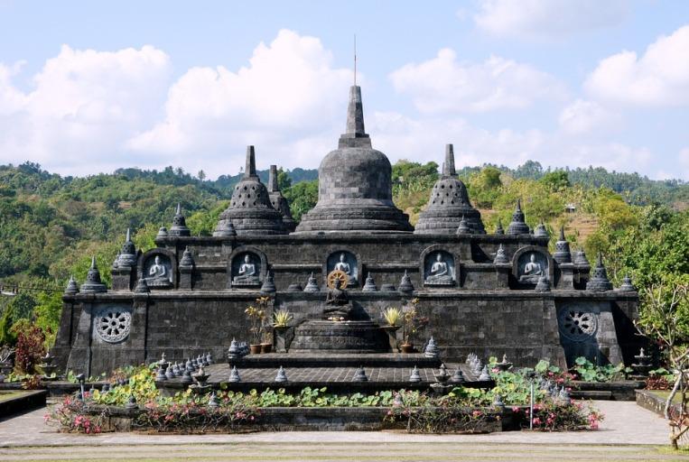 Buddhist temple in Banjar