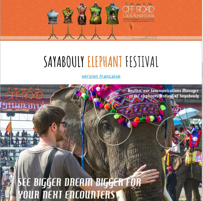 SAYABOULY ELEPHANT FESTIVAL