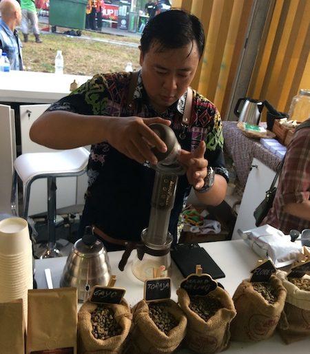 Coffe stall