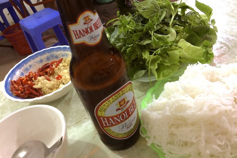 Hanoi refreshing beer