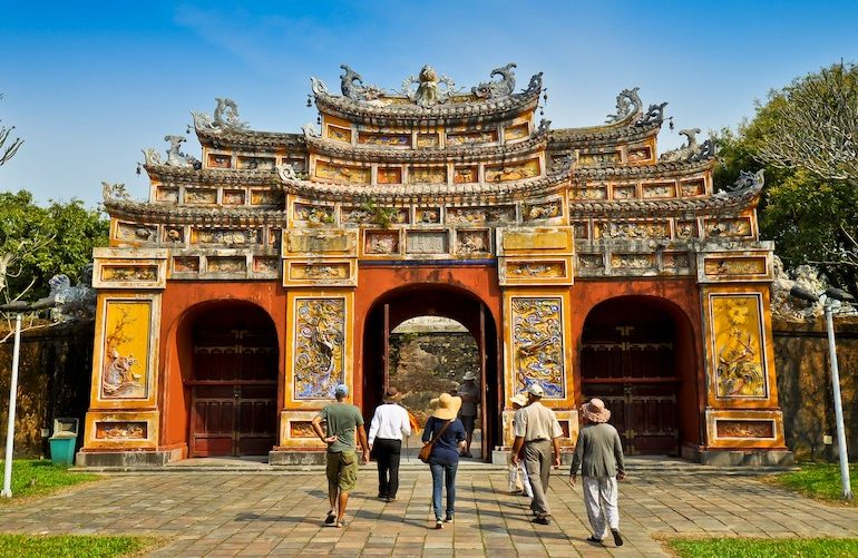 5 Hue imperial city, Vietnam