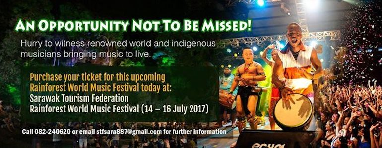 Rainforest World Music Festival 2017 tickets