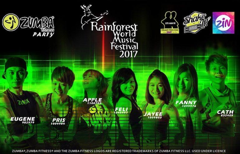 Zumba at Rainforest World Music Festival 2018