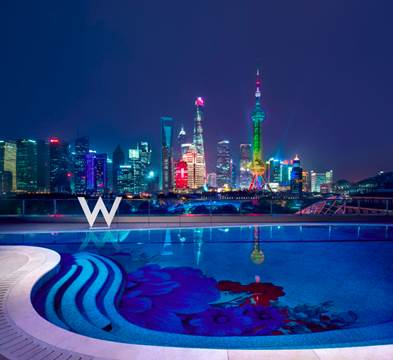 Debut of W Shanghai – The Bund