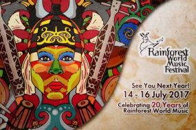 The 20th Rainforest World Music Festival gets going