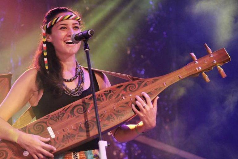 Alena Murang at the sape