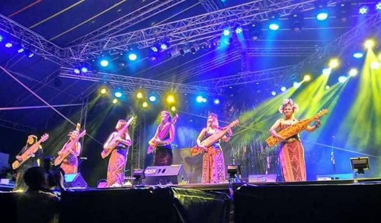 Great performance at Rainforest World Music Festival