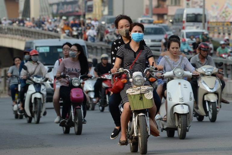Hanoi to ban motorbikes by 2030