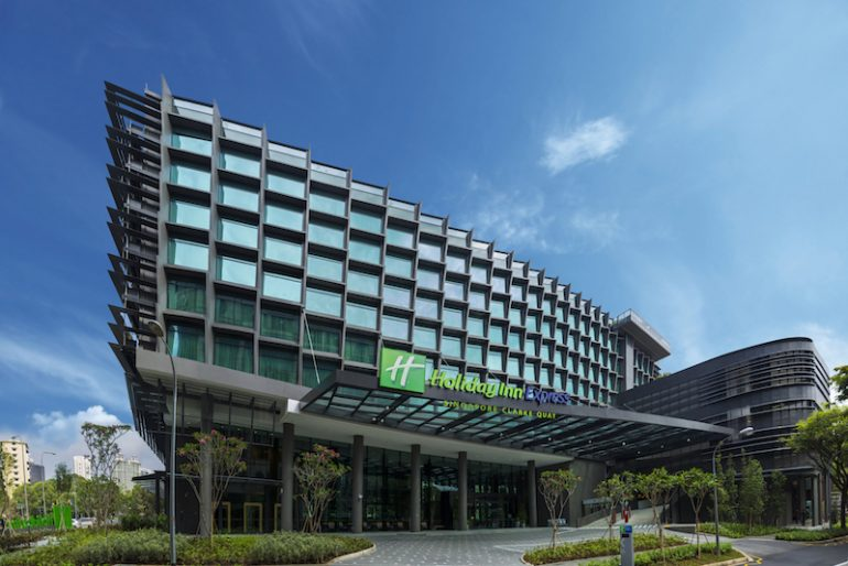 Holiday Inn Express Singapore Clarke Quay hotel facade