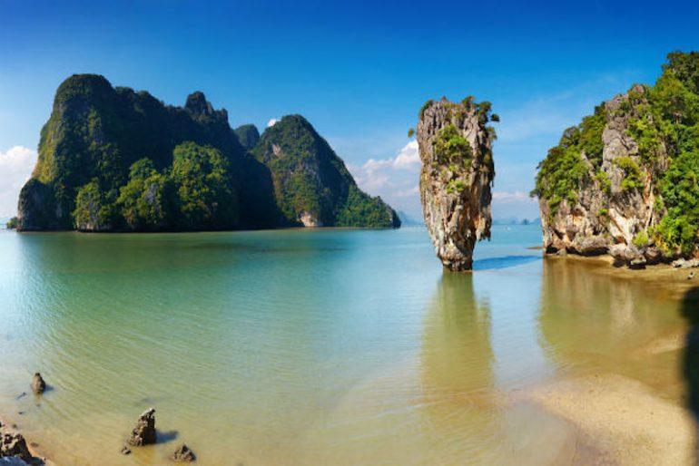 Phang Nga Bay azure waters
