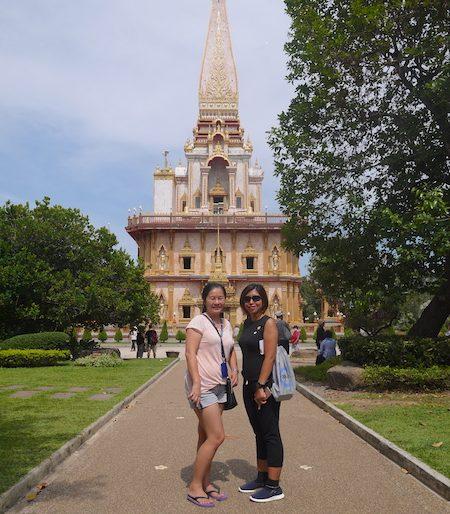 At a Phuket temple