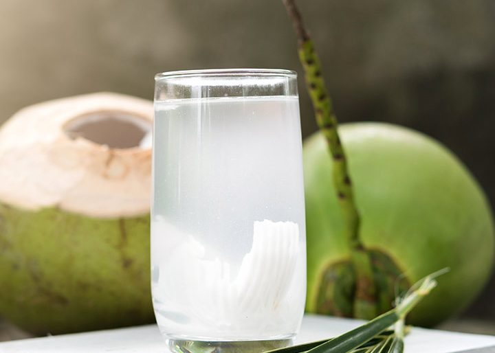Healthy drink from coconut