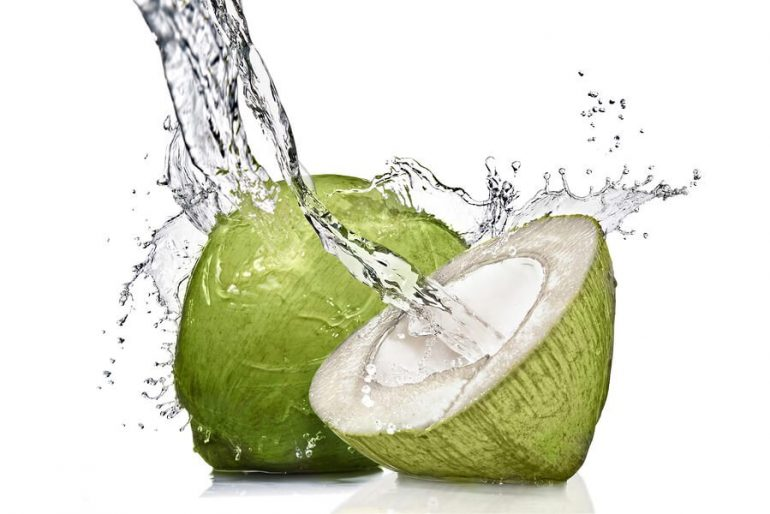 hydrating coconut water