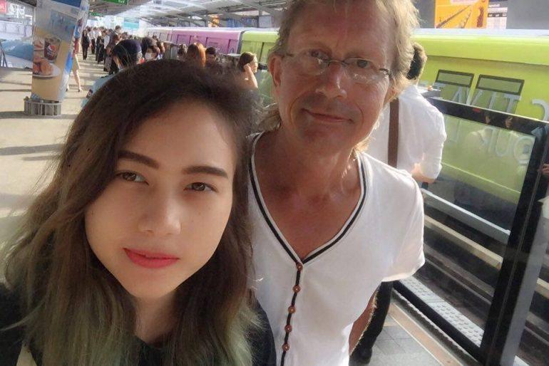 Chanaya with his Dutch dad Conrad