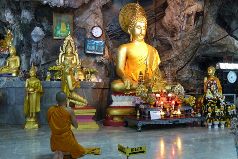 Wat Than Seua caves