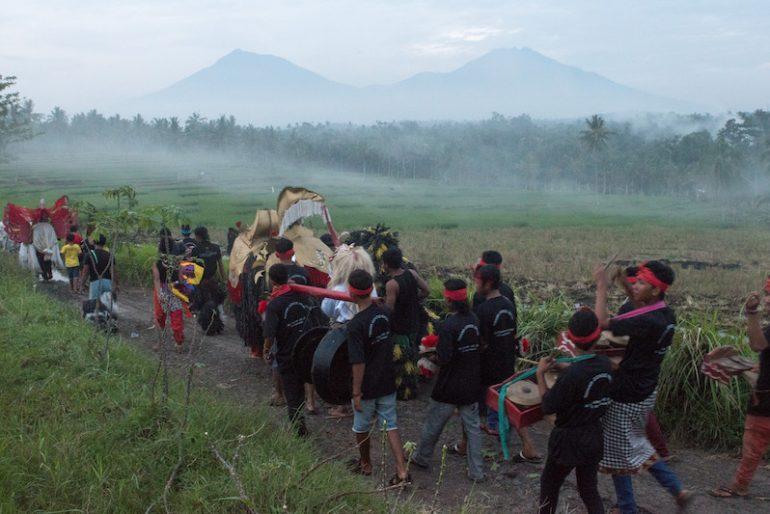 A Osing ritual honouring the spirits