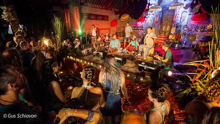 Music nights at BaliSpirit Festival