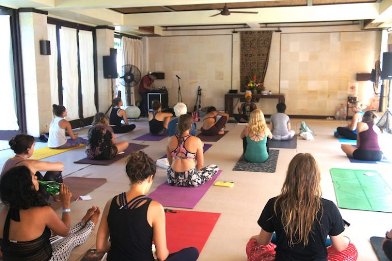 Nadine class was relaxing and inspiring