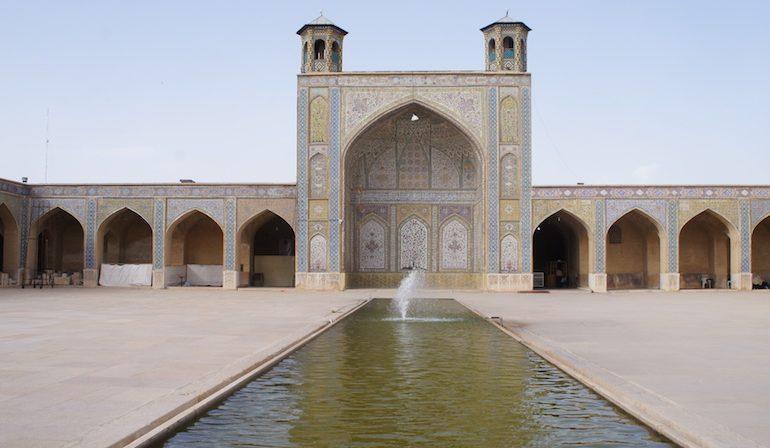 inside Vakil mosque