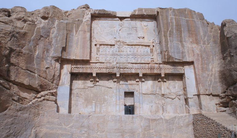 the ancient glory of Persepolis