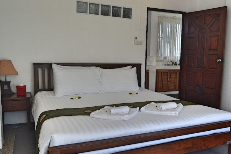 Our room at Klong Muang Dream House