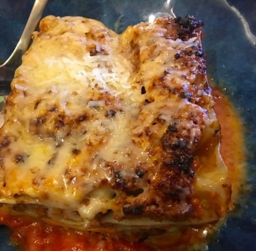 Home made lasagna the mamma way