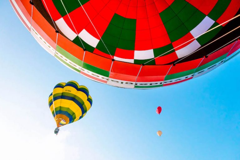Balloons Mass Ascension begins at 7 AM