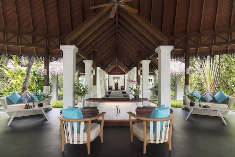 Anantara Veli Balance Wellness Entrance