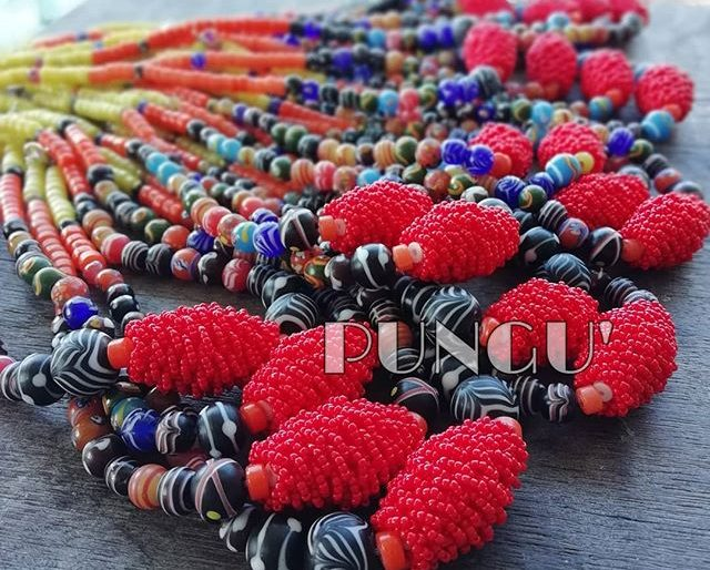 Beautiful Kabo bracelet made by locals