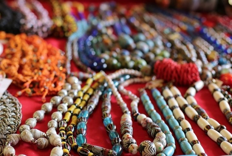 Colourful and unique Bead necklaces