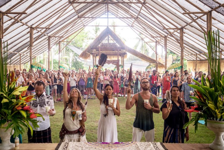 Cacao Ceremony at BaliSpirit-Festival
