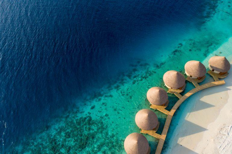 InterContinental Maldives - Spa from air