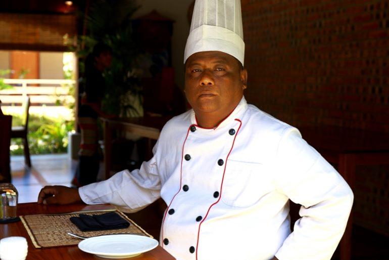 Keinnara Lodge Loikaw's new chef Thu Ra Aung previously worked at the celebrated Strand Hotel in Yangon