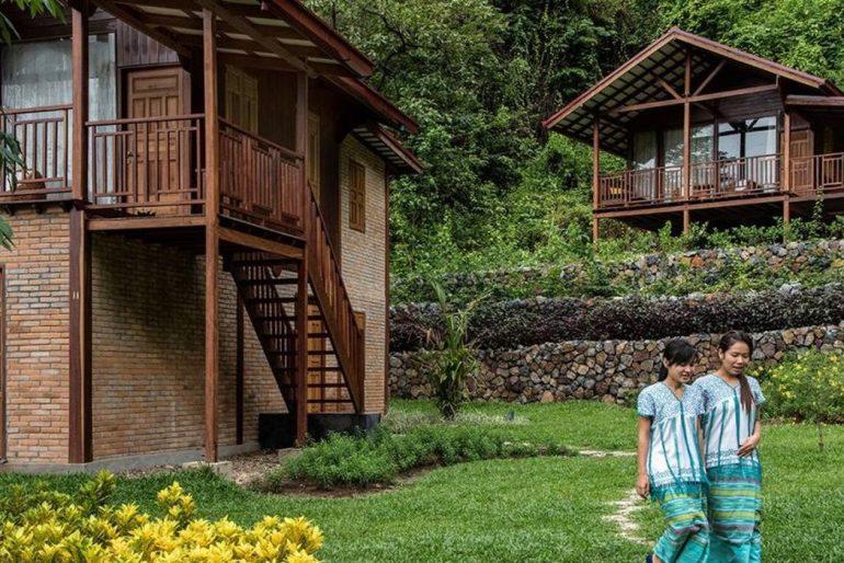 Keinnara Lodge grounds