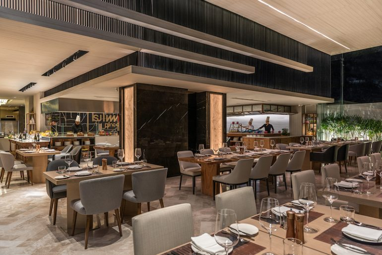 OPEN} Restaurant serves an eclectic mix of regional and local favourites with both indoor and al fresco seating options