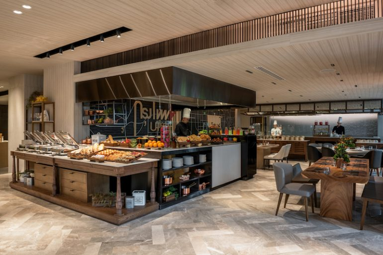 Start the day with a hearty DoubleTree breakfast buffet with a variety of international and local cuisines