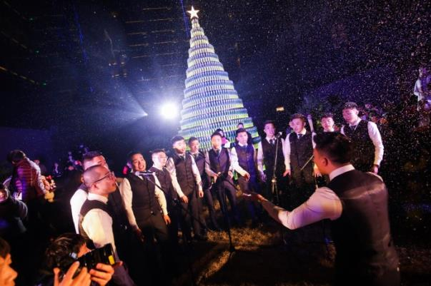 2018 Christmas Tree Lighting Ceremony at The Temple House
