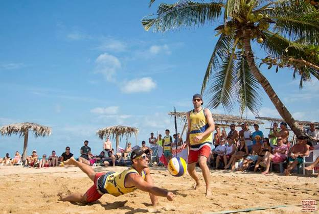 Samui Open Beach Volleyball in February