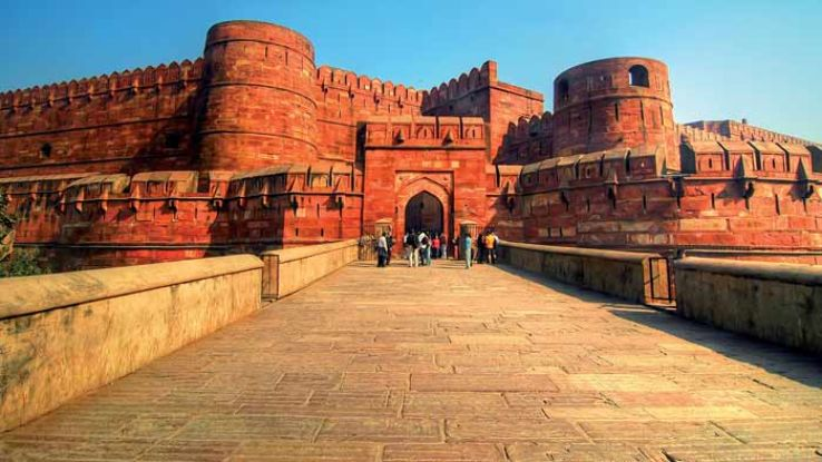 The amazing Agra Fort