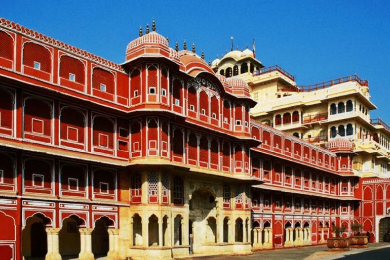 The magnificent City Palace in Jaipur