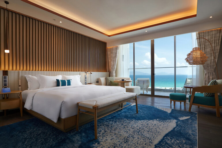 Deluxe King room at the Radisson Blu Resort Cam Ranh