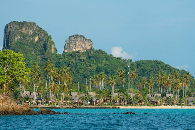 Phi Phi Island Village Beach Resort amazing setting