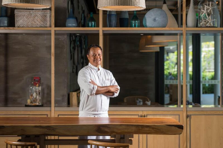 Meliá Koh Samui's executive chef Azizskandar Awang received the Chef Hotelier of the Year award