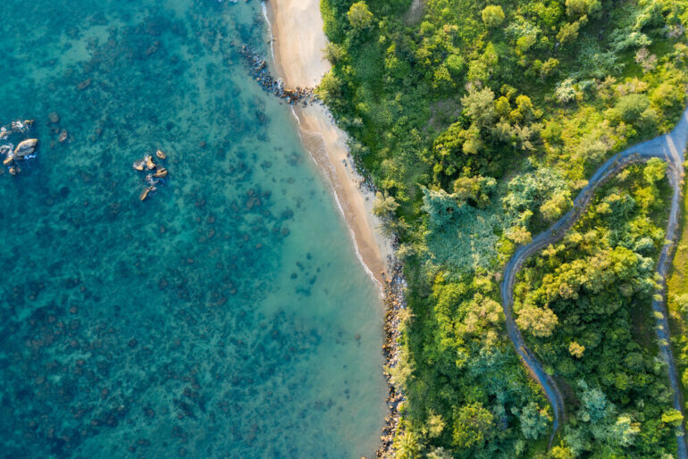 One of the amazing beaches surrounding Melia Koh Samui