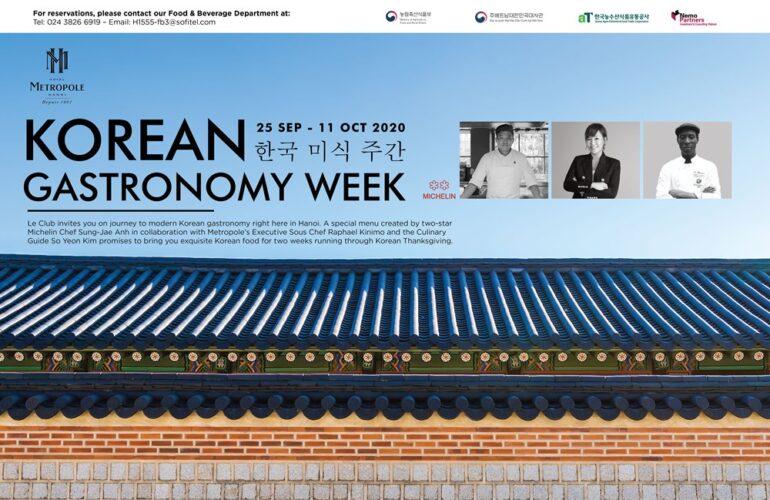 Metropole Hanoi to host Korean gastronomy celebration