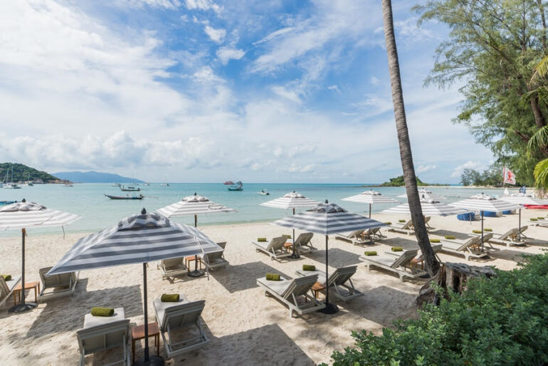 Overlooking Choeng Mon Beach, Meliá Koh Samui is pulling out all the stops to mark its first Christmas and New Year