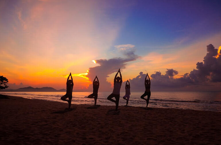 The glorious beaches in Ba Ria:Vung Tau offer scope for a range of activities from yoga to plain old-fashioned lazing